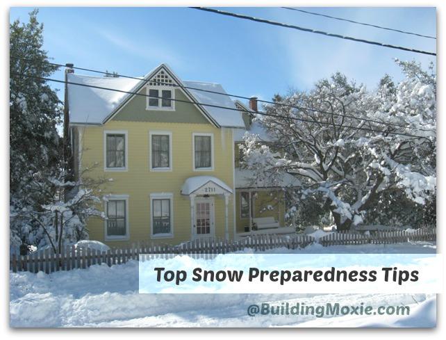 Top Snow Preparedness Tips || BuildingMoxie.com