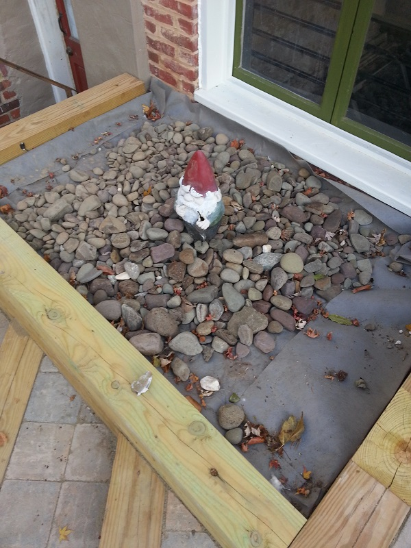 stone bed pocono river rock gnome #rock #gnome