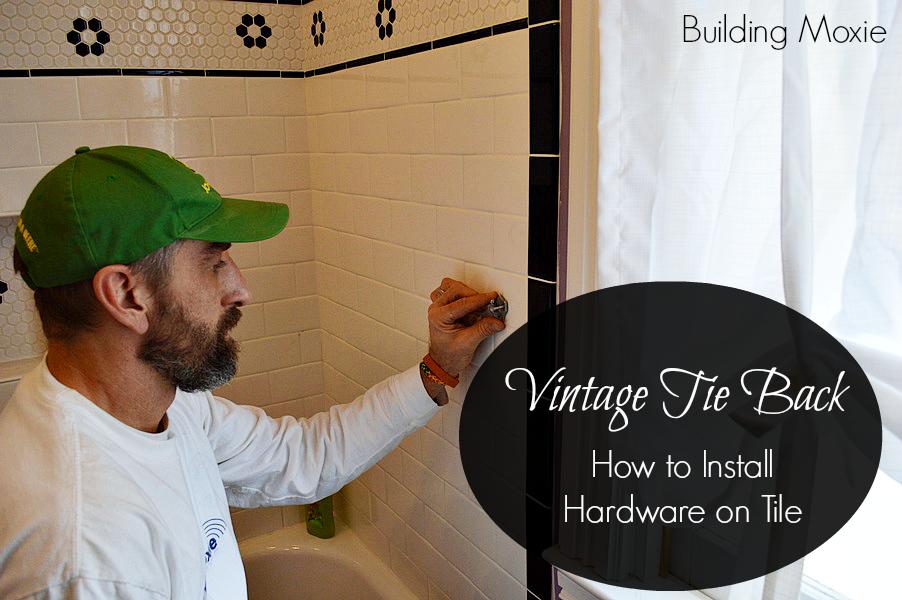 Installing Hardware in Tile
