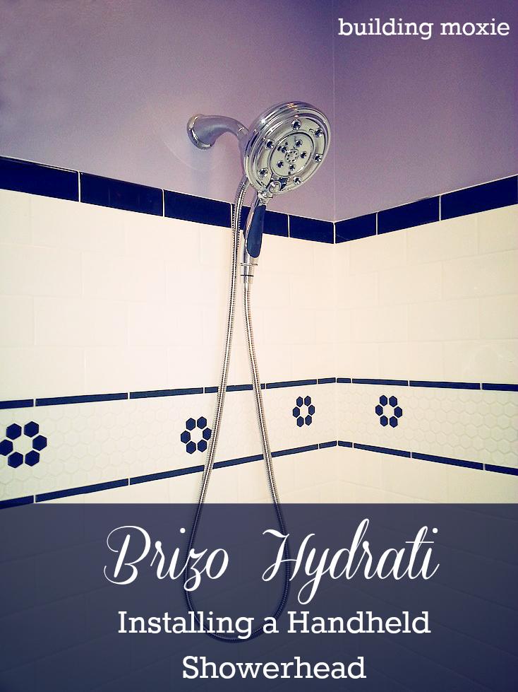 Installing a Headheld Showerhead Brizo Hydrati