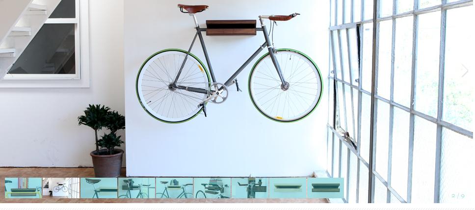 Knife And Saw Bike Shelf