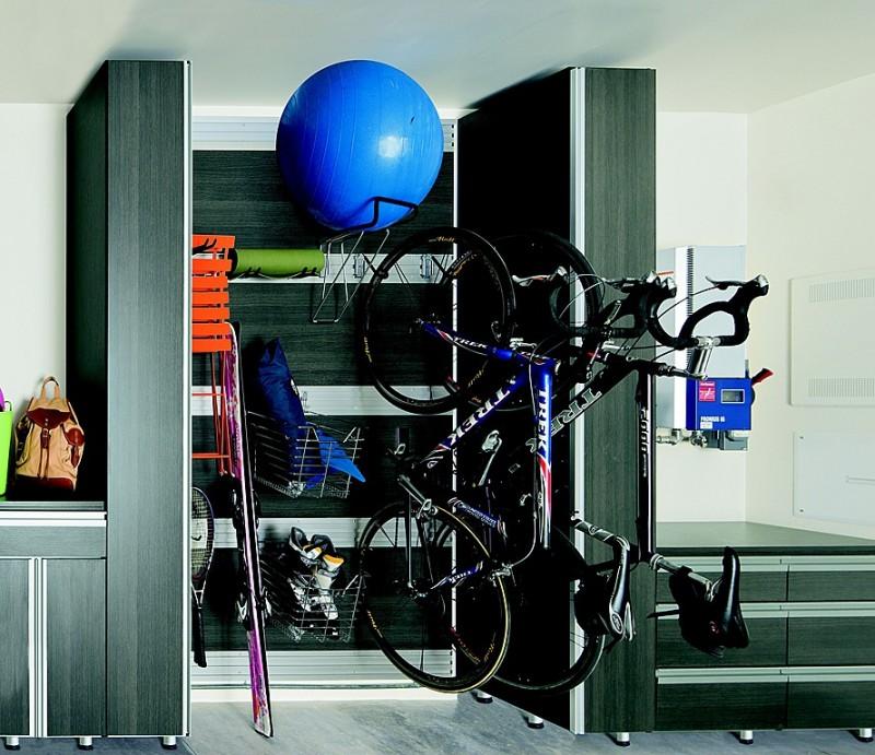 bike storage hooks