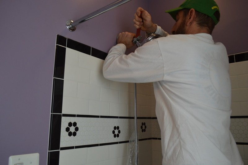 Installing a Handheld Showerhead