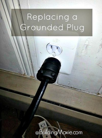 Replacing a Grounded Plug