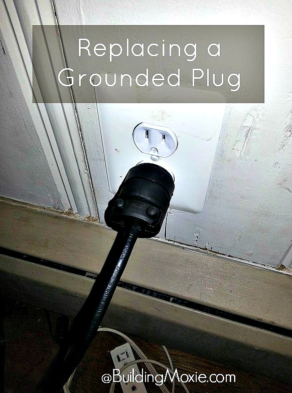 Replacing a Grounded Plug on a Space Heater || Building Moxie