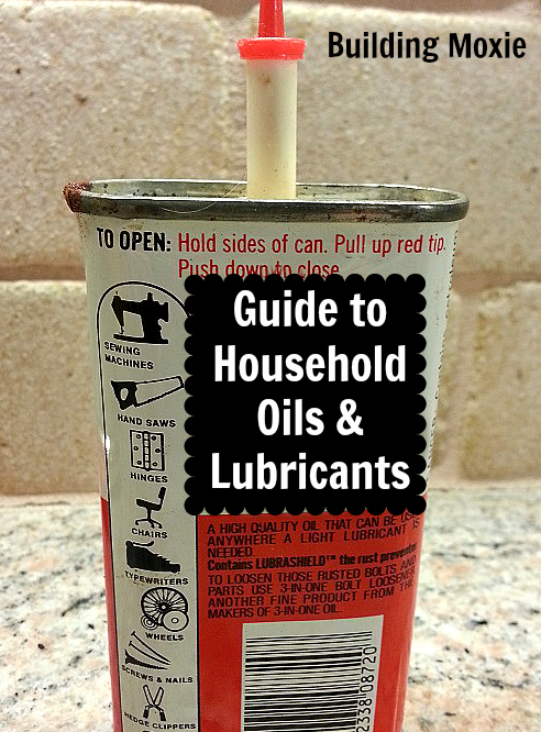 A Guide to Household Oils & Lubricants