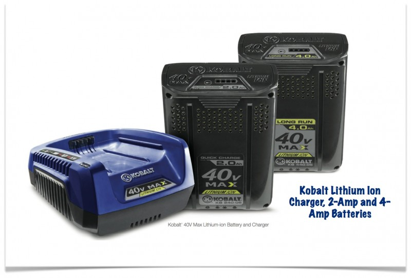 Kobalt 40V Max Batteries