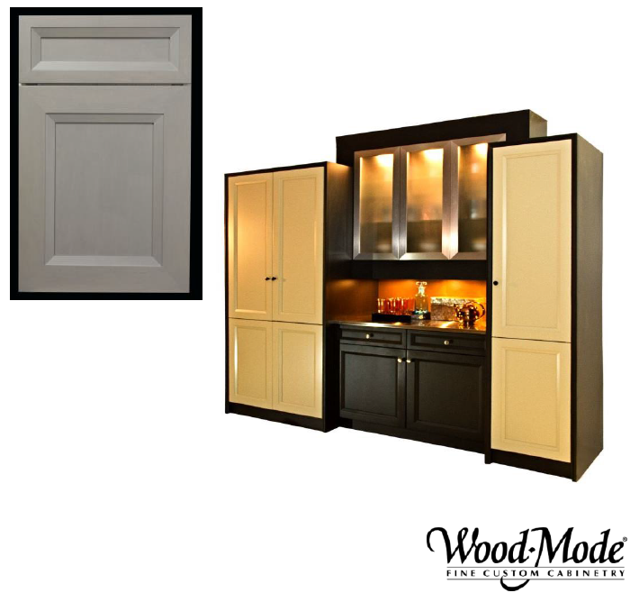 Wood-Mode Whitney door style