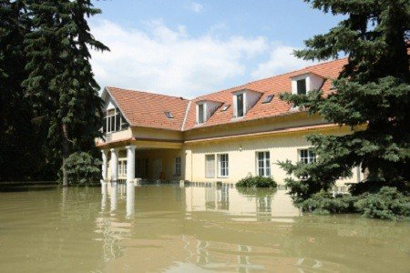 Spring Home Repair :: Flooded House