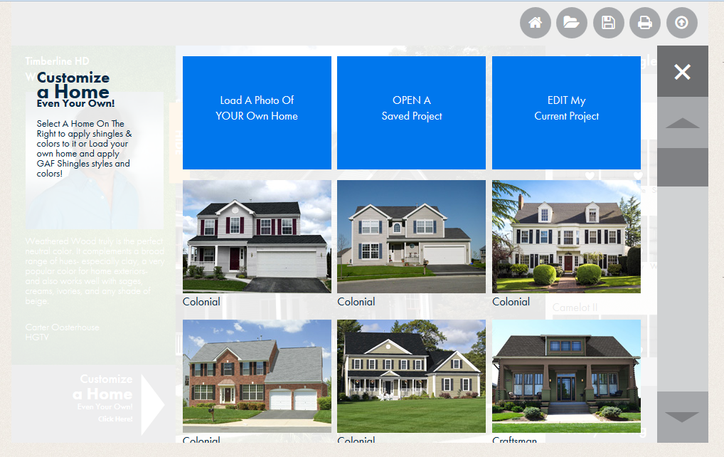 The Benefits Of New Roofing GAF Roofings Newest Website - Virtual home remodeler