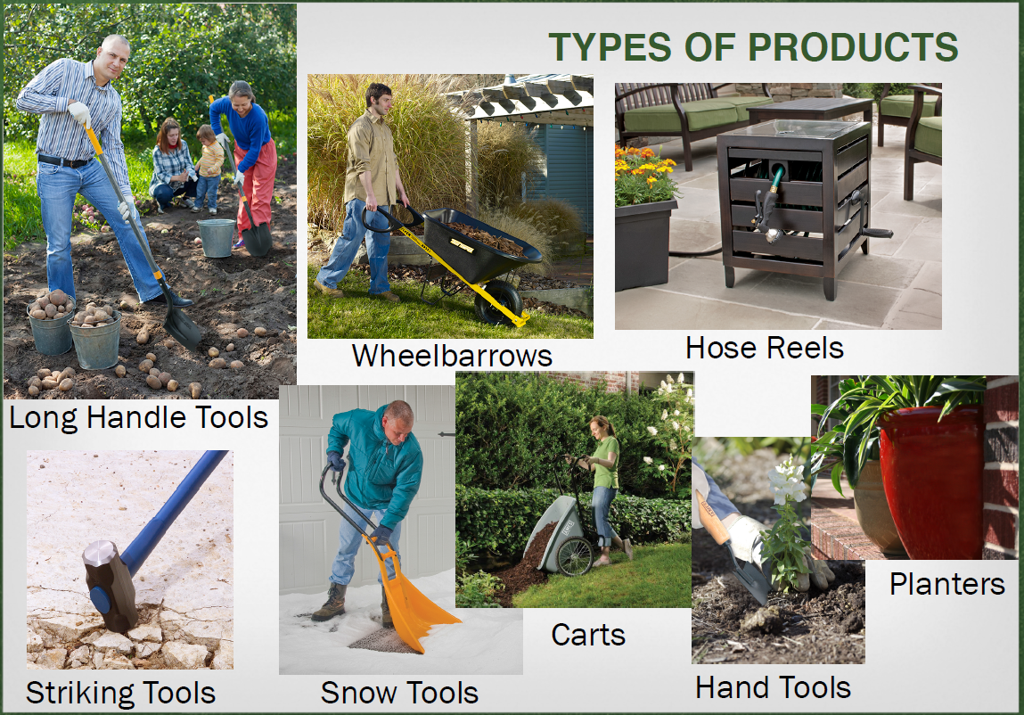 AMES Companies Types of Products