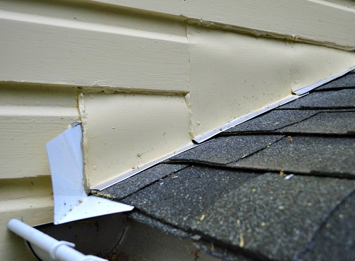 Replacing Roof Flashing At A Sidewall