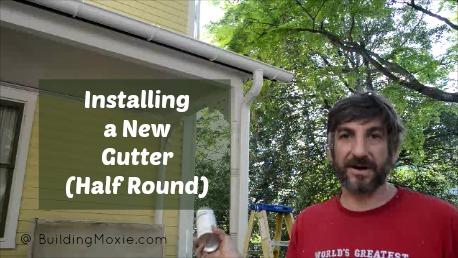 Installing a Gutter (Half Round)