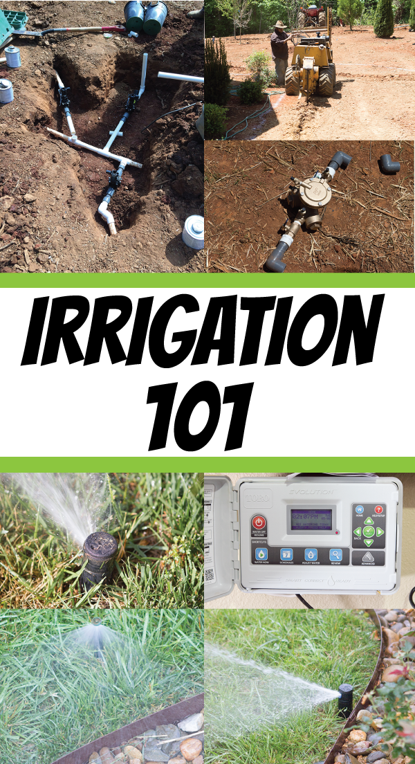 Irrigation 101 :: Basics of a Residential Irrigation System