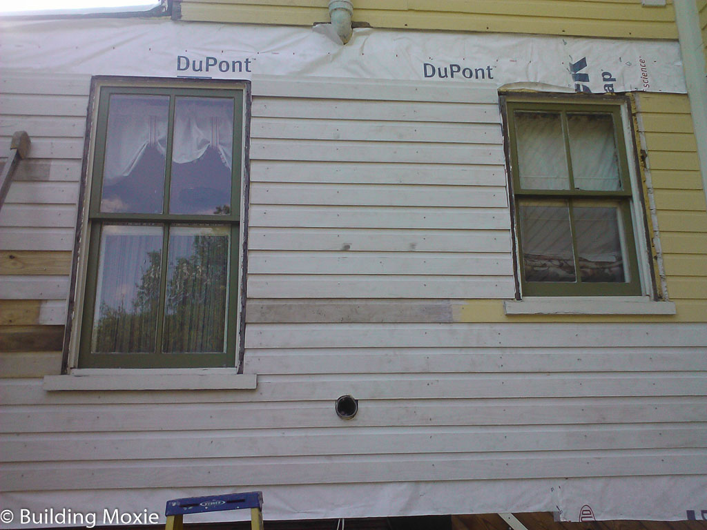 dutch lap wood siding. Repairing Dutch Lap Wood Siding - Patching In I