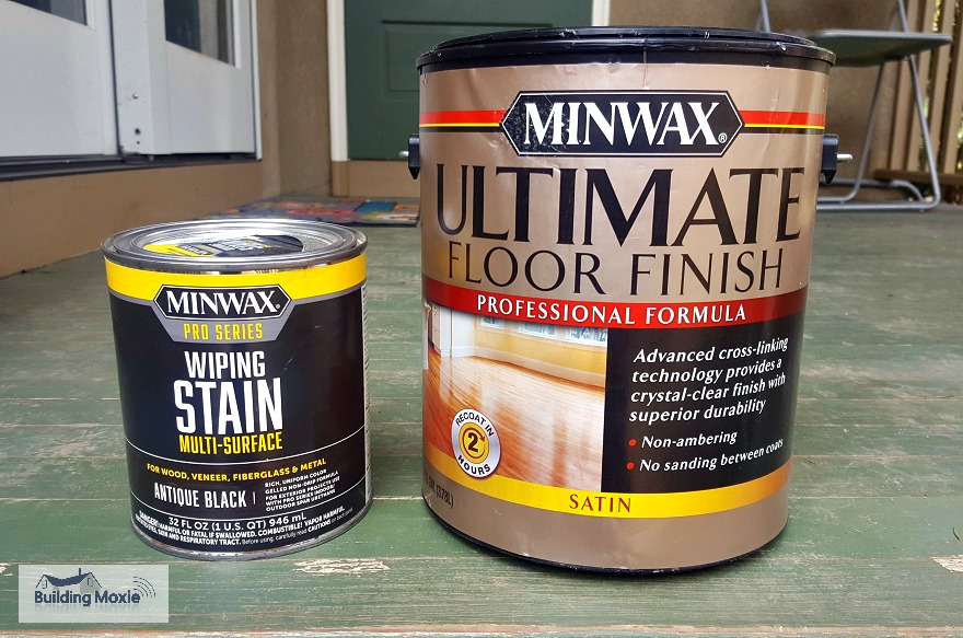 Miniwax Pro Products Wiping Stain Ultimate Floor Finish