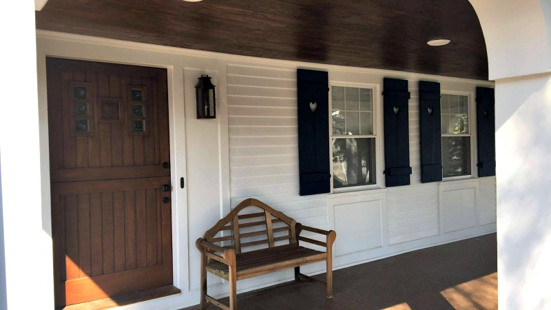 Coastal Cottage Board and Batten-shutters