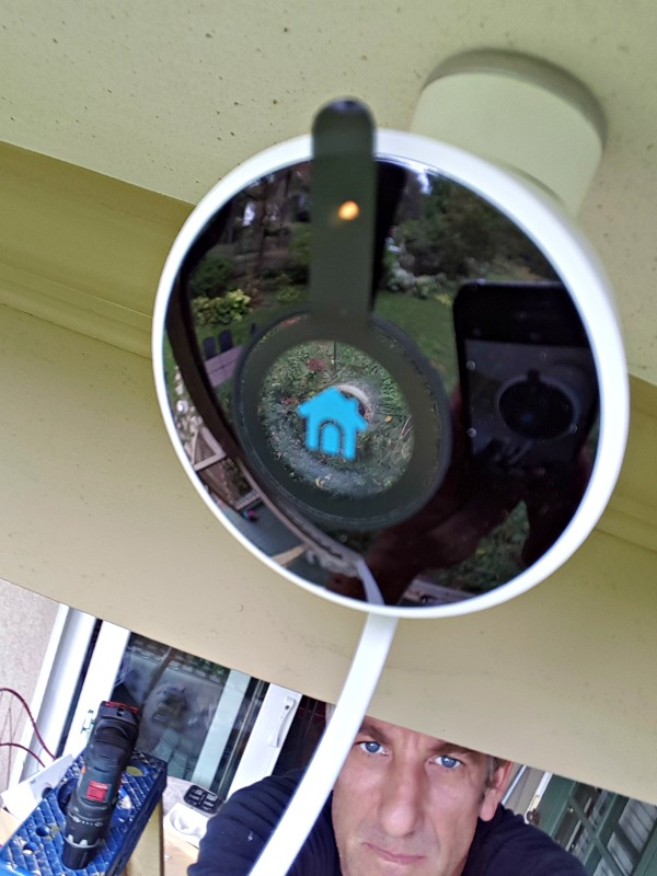 Installing Nest Cam Outdoor