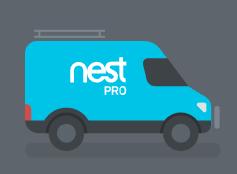 Nest Pro van graphic