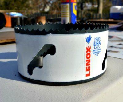 LENOX T3 hole saw SPEED SLOT
