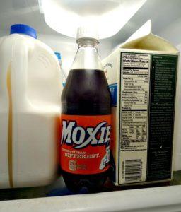 bottle moxie in the frig